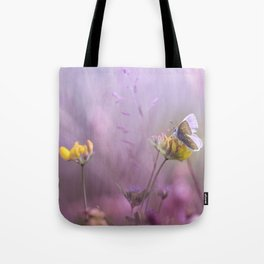 It's only me.... and this little one... Tote Bag