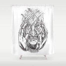 Nightmare of Freddy Shower Curtain