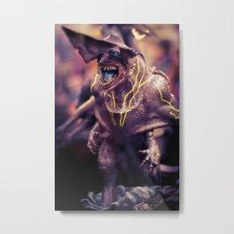 Knifehead Metal Print