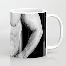 muscular male torso Coffee Mug