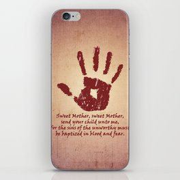 Dark Brotherhood iPhone Skin