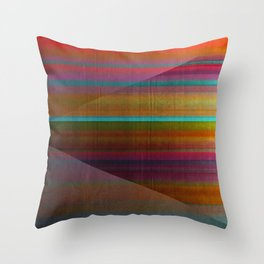 """""""Architecture, Colorful Rainbow"""" by Mar Cantón Throw Pillow"""