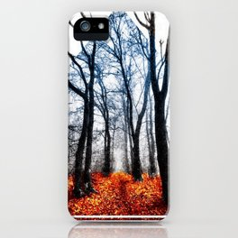 Yonder Through The Forest Go iPhone Case