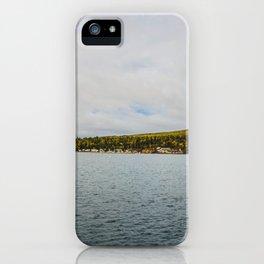 Harbor, Grand Marais, Minnesota 2 iPhone Case
