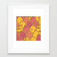 scales Framed Art Prints featuring Scales by Sweet Colors Gallery