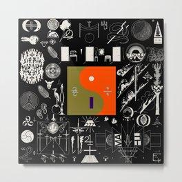 Bon Iver - 22, A Million Metal Print