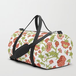 Rococo Floral Pattern #5 Duffle Bag