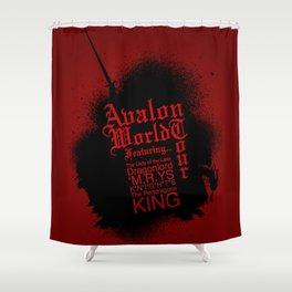 Avalon World Tour Shower Curtain