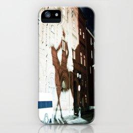Intimidating Shadows iPhone Case