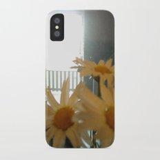 Chicago Daisies ~ flowers Slim Case iPhone X