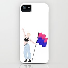 We're Just Strangers iPhone Case