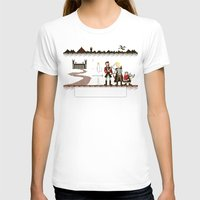 aragorn T-shirts featuring Aragorn Trail by Drew Brockington
