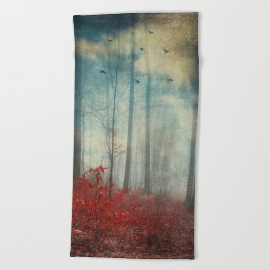 open woodland dreams Beach Towel