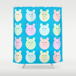 Ositos Shower Curtain