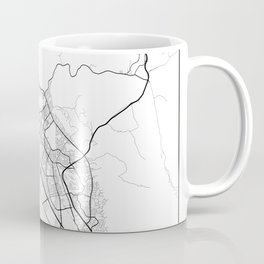 Minimal City Maps - Map Of Fremont, California, United States Coffee Mug