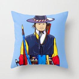 Deoksugung Guard Throw Pillow