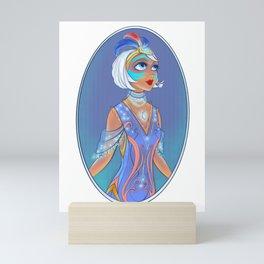 20s Fashun Q Mini Art Print