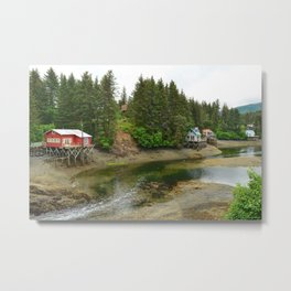 Seldovia Slough - Alaska Metal Print