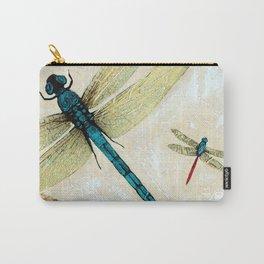 Zen Flight - Dragonfly Art By Sharon Cummings Carry-All Pouch