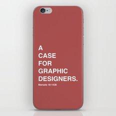 BDFD - Graphic Designer iPhone & iPod Skin