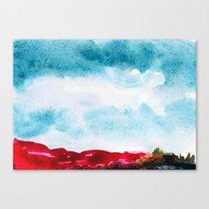 Pink Cliffs Canvas Print