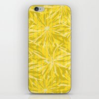 sunflowers iPhone & iPod Skins featuring Sunflowers by Simi Design