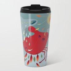 Fall Creeper Metal Travel Mug