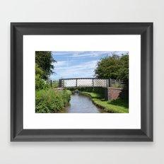 Whitley Bridge Framed Art Print