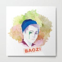 Baozi Metal Print