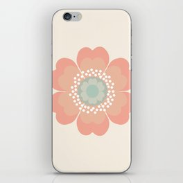 Good Look - 70s retro vibes floral flower power 1970's colorful retro vintage style iPhone Skin