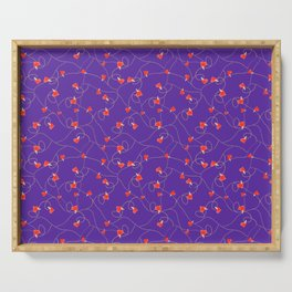 Twine and Hearts - Royal Purple Serving Tray