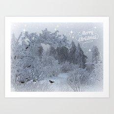 Merry Christmes Art Print