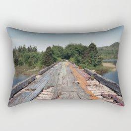 Rainbow Bridge Rectangular Pillow