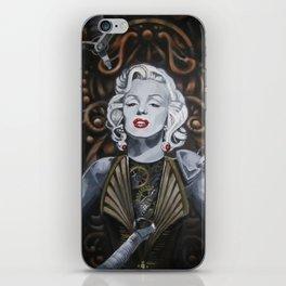 Cyborg Marilyn iPhone Skin