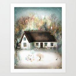 Peta's House Art Print
