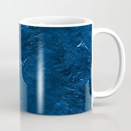Moon Rock in Stonewash Blue Denim Coffee Mug