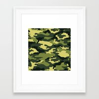 military Framed Art Prints featuring Military  by ''CVogiatzi.