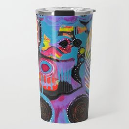 """The Light Within"" Original Painting by Toni Becker, Artfully Healing Travel Mug"