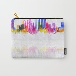 Color New York Skyline 05 Carry-All Pouch