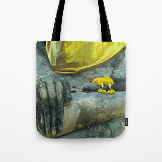 Buddha in Thailand Tote Bag
