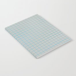 Wavy surface made of cubes Notebook