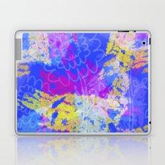 Faint Flowers Laptop & iPad Skin