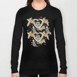 Sloths and Vanilla Long Sleeve T-shirt