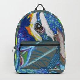 Peacock Love Backpack
