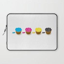 CMYK cupcakes Laptop Sleeve