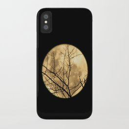 Shadows on the Moon iPhone Case