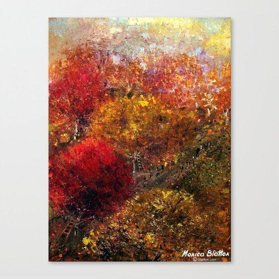 Autumn Orchard Canvas Print