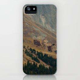 warm valley iPhone Case