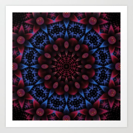 dark star Art Print