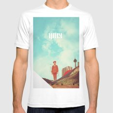 Why Mens Fitted Tee White MEDIUM